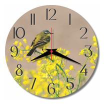 Relógio Parede Pássaro Natureza Cozinha Passarinho Ave 30cm - Relógil