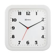 Relógio Parede Quadrado Herweg Branco Cozinha Original -