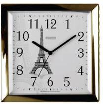 Relógio parede quartz. dourado 119020/29 - Ambiente