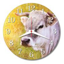 Relógio Parede Vaquinha Vaca Cozinha Sala Retrô Vintage 30cm - Relógil