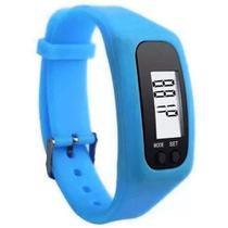 Relógio Pedômetro Digital Conta Passos e Calorias LiveUp Azul - Liveup Sports