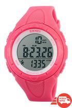 Relógio Pedômetro Feminino Skmei Digital 1108 - Rosa -