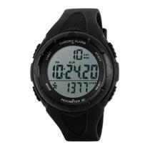 Relógio Pedômetro Masculino Skmei Digital 1108 - Preto -