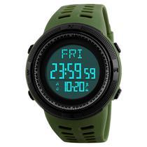 Relógio pedômetro masculino skmei digital -