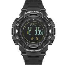 Relógio pedômetro masculino weide digital wa-9j001 - preto - Champion