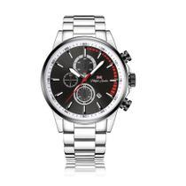 99034d95979 Relógio Philiph London Masculino Ref  Pl80019633m Cronógrafo Bicolor