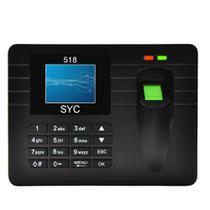 Relógio Ponto Biométrico Digital Usb Pendrive Pronta Entrega - Wd