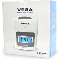 Relógio Ponto Cartográfico Henry Vega Com 50 Cartões -