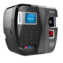 Relógio Ponto Henry Hexa ADV B Bio Vermelha e Prox -