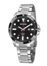 Relógio Prata Em Aço  20789 - Seculus