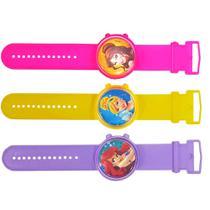 Relógio princesas infantil - brasilflex -