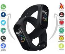 Relógio Pulseira Inteligente Digital Corrida Tela OLED Com Touchpad 0.42 Polegadas - Health Bracelet