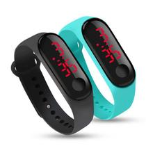 Relógio Pulseira Silicone Digital Led Unissex Preto - Ld