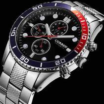 61bcb8188d5 Relógio Pulso Curren Aço Inox Luxo Prova Dagua Original 8028