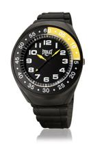 ec17c6c5cd5 Relógio Pulso Everlast Com Pulseira Pu E3001 Masculino Preto