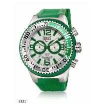 Relógio Pulso Everlast Masculino Azul Cronografo E318 -