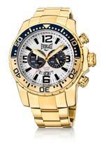 4357608ce07 Relógio Pulso Everlast Pulseira Aço E651 Masculino Branco