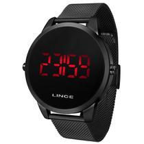 Relógio Pulso LINCE Quartz digital caixa de metal -