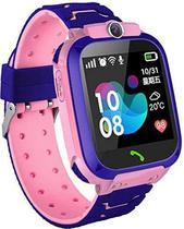 Relógio Q12 Inteligente Infantil SOS Smartwatch Prova D'Agua Rosa - Ebai -