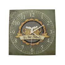 Relógio Quadrado Canecos - Tecnolaser
