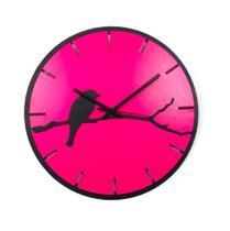 Relógio Rosa Bird decoração Sala Cozinha Quarto Escritório - Az Design