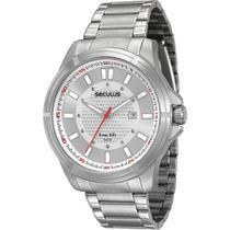 Relógio Seculus 20335g0svna1 Prata -