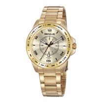 Relógio Seculus 20898GPSVDA2 dourado -