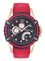 Relógio Seculus  23541GPSVIU1 Masculino Vermelho/Preto -