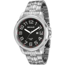 Relógio Seculus 28699g0svna1 Prata -