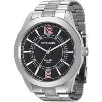 Relógio Seculus 28864G0SVNA1 Prata -