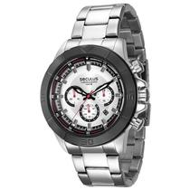 Relógio Seculus Cronógrafo Masculino - 28798GPSVCA1 -