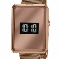 Relógio Seculus Digital Feminino 77061LPSVMS3 Chocolate -