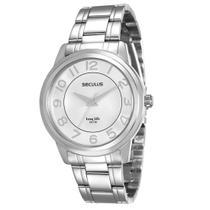 Relógio Seculus Feminino 20424l0svna3 -
