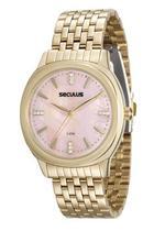 Relógio seculus feminino 20504lpsvds1 prata long life -