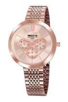 Relógio Seculus Feminino  20541LPSVRS4 Rosê -