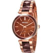 Relógio Seculus Feminino 20596lpsvrq2 -