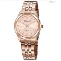 Relógio Seculus Feminino  35027LPSVRA1 Rosê -
