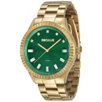 Relógio Seculus Feminino 69507LPSVDS3 -