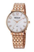 Relógio Seculus Feminino 77050LPSVRS2  Rosê -