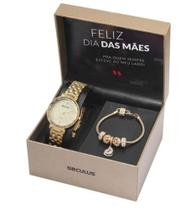 Relógio Seculus Feminino 77068lpskds2k1 -
