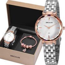 Relógio Seculus Feminino 77068LPSKGS1K1 -