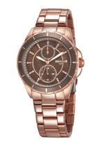 Relógio Seculus Feminino Analógico Rose Gold 28972LPSVRS1 -