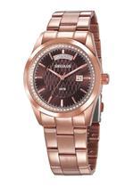 Relógio Seculus Feminino Analógico Rose Gold 35002LPSVRS1 -