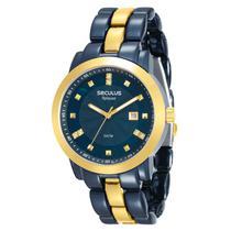 Relógio Seculus Feminino Aplause - 20422LPSVLA4 -