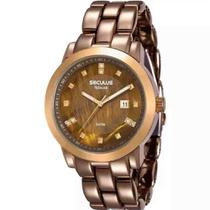 Relógio Seculus Feminino Aplause 20422lpsvma2 -
