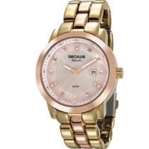 Relógio Seculus Feminino Aplause 20628LPSVWA3 -