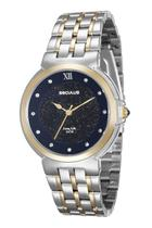 Relógio seculus feminino bicolor 23546lpsvba2 -