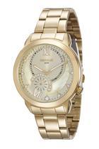 Relógio seculus feminino dourado 20416lpsvds1 -