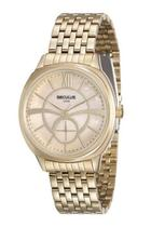 Relógio seculus feminino dourado 20417lpsvds1 -