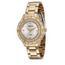 Relógio Seculus Feminino Dourado 28853LPSVDA1 -